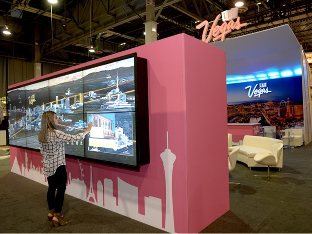 Las Vegas Launches Innovative Trade Show Booth Technology – Channel