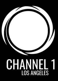 channel 1 logo black