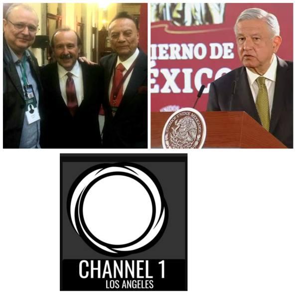 corresponsales channel 1 los angeles palacio Nacional.jpg
